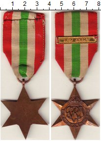 Изображение Монеты Великобритания Медаль 0 Бронза XF `Медаль ``Итальянска