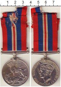 Изображение Монеты Великобритания Медаль 1945 Медно-никель XF Медаль войны 1939-45