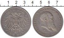 Изображение Монеты Саксен-Майнинген 5 марок 1901 Серебро XF Георг II