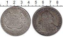 Изображение Монеты Саксония 1 талер 1763 Серебро XF+ Фридрих Кристиан