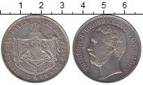 Изображение Монеты Баден 1 талер 1868 Серебро XF