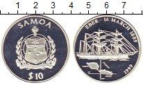 Изображение Монеты Самоа 10 долларов 1999 Серебро Proof-