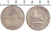 Изображение Монеты Ганновер 16 грошей 1826 Серебро UNC-