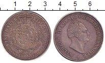 Изображение Монеты Ганновер 1 талер 1837 Серебро XF