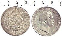 Изображение Монеты Пруссия 1 талер 1848 Серебро UNC-