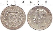 Изображение Монеты Германия Ольденбург 1 талер 1866 Серебро XF-