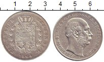 Изображение Монеты Германия Мекленбург-Шверин 1 талер 1864 Серебро XF