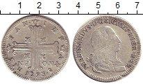 Изображение Монеты Италия Сицилия 6 тари 1793 Серебро VF