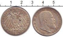 Изображение Монеты Германия Вюртемберг 2 марки 1906 Серебро XF