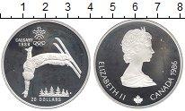 Изображение Монеты Канада 20 долларов 1986 Серебро Proof- Елизавета II.  Олимп
