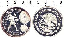 Изображение Монеты Мексика 5 песо 2006 Серебро Proof-