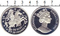 Изображение Монеты Гибралтар 35 экю 1992 Серебро Proof-