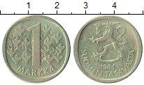 Изображение Монеты Финляндия 1 марка 1964 Серебро XF