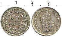Изображение Монеты Швейцария 1/2 франка 1956 Серебро XF