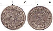 Изображение Монеты Веймарская республика 50 пфеннигов 1928 Медно-никель XF F