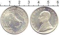 Изображение Монеты Италия 500 лир 1974 Серебро UNC- Маркони
