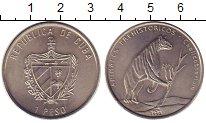 Изображение Монеты Куба 1 песо 1993 Медно-никель XF