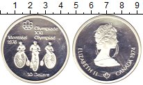 Изображение Монеты Канада 10 долларов 1974 Серебро Proof-