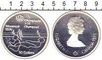Изображение Монеты Канада 10 долларов 1975 Серебро Proof-