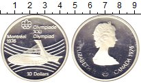 Изображение Монеты Канада 10 долларов 1976 Серебро Proof-