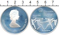 Изображение Монеты Канада 5 долларов 1976 Серебро Proof-