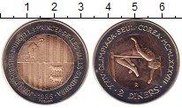 Изображение Монеты Андорра 2 динера 1985 Биметалл UNC