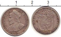 Изображение Монеты Панама 5 сентесимо 1904 Серебро XF Бальбоа