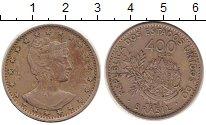 Изображение Монеты Бразилия 400 рейс 1901 Медно-никель XF