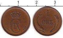 Изображение Монеты Дания 1 эре 1893 Медь XF