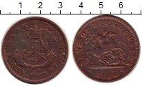 Изображение Монеты Канада 1 пенни 1854 Медь XF