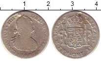 Изображение Монеты Боливия 1 реал 1807 Серебро VF-