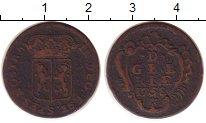 Изображение Монеты Нидерланды 1 дьит 1758 Медь VF