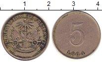 Изображение Монеты Гаити 5 сантим 1904 Медно-никель XF