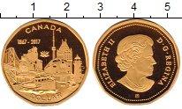 Изображение Монеты Канада 1 доллар 2017 Латунь Proof
