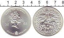 Изображение Монеты Замбия 5000 квач 2003 Серебро UNC