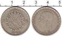 Изображение Монеты Швеция 1 крона 1948 Серебро XF