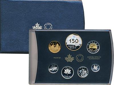 Изображение Подарочные наборы Канада 150 лет Конфедерации 2017 Серебро Proof