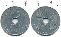 Изображение Барахолка Дания 25 эре 1979 Медно-никель XF