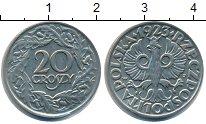 Изображение Барахолка Польша 20 грошей 1923 Медно-никель XF