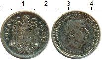 Изображение Барахолка Испания 1 песета 1966 Медно-никель VF-