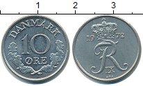 Изображение Барахолка Дания 10 эре 1972 Медно-никель XF