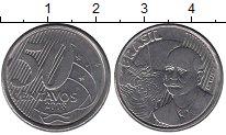 Изображение Дешевые монеты Бразилия 50 сентаво 2008