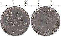 Изображение Дешевые монеты Испания 5 песет 1980 Медно-никель XF-