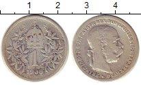 Изображение Монеты Австрия 1 крона 1900 Серебро VF Франц  Иосиф I