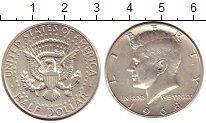Изображение Монеты США 1/2 доллара 1968 Серебро XF+