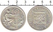 Изображение Монеты Чехословакия 10 крон 1932 Серебро XF