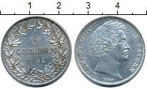 Изображение Монеты Бавария 1/2 гульдена 1842 Серебро UNC-