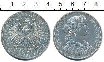 Изображение Монеты Франкфурт 2 талера 1862 Серебро XF