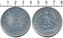Изображение Монеты Мексика 1 песо 1901 Серебро XF