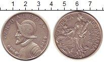 Изображение Монеты Панама 1 бальбоа 1934 Серебро XF